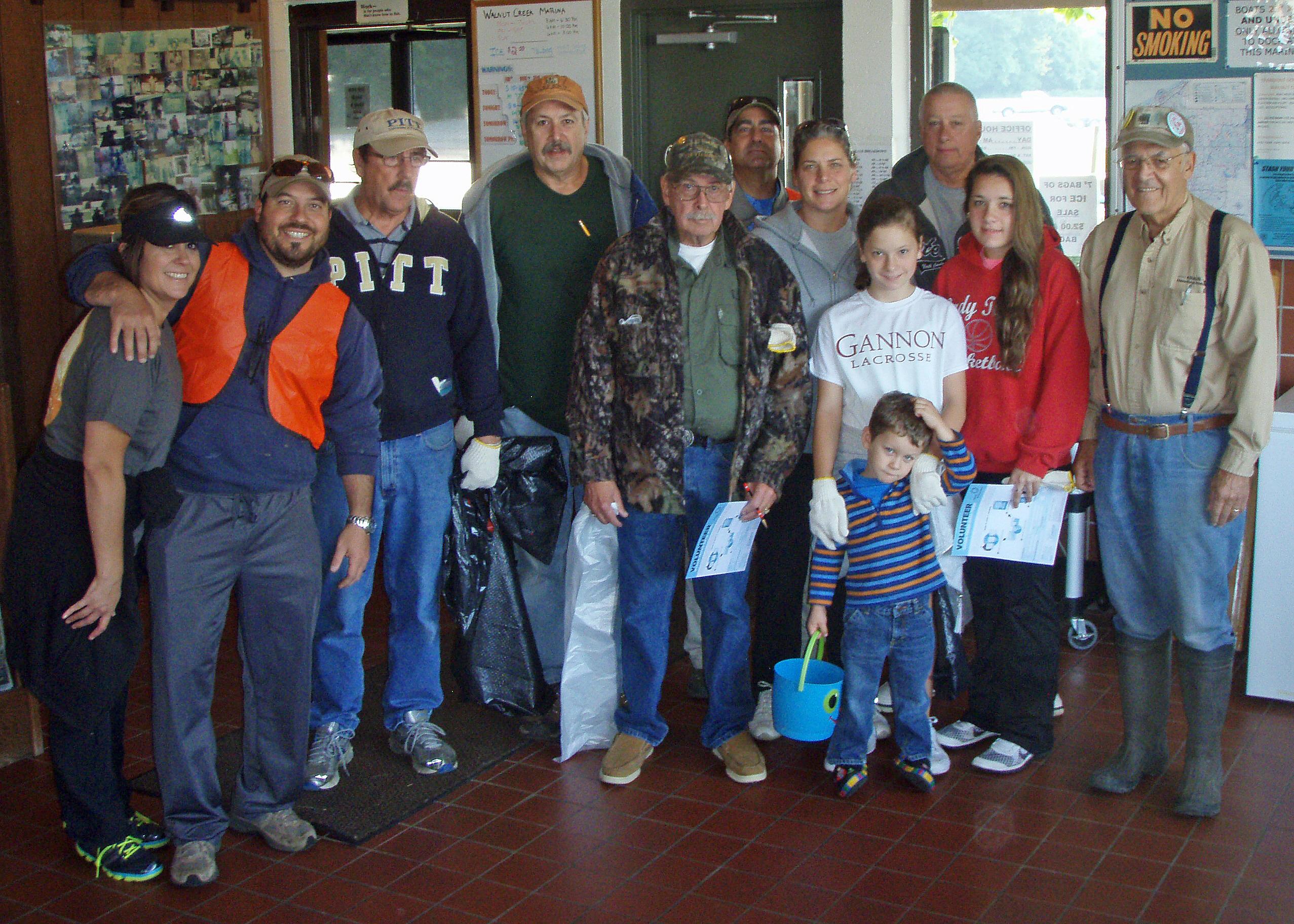 PA Steelhead Association - ICC Cleanups of Walnut Creek